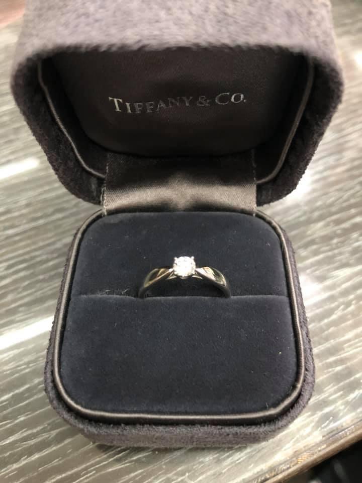 TIFFANY時尚女戒,求婚首選